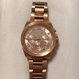 d9d8999a36dc Michael Kors · Michael Kors Bradshaw Watch in Rose Gold